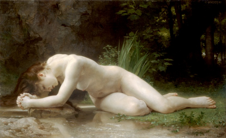famous painting Biblis of William Adolphe Bouguereau