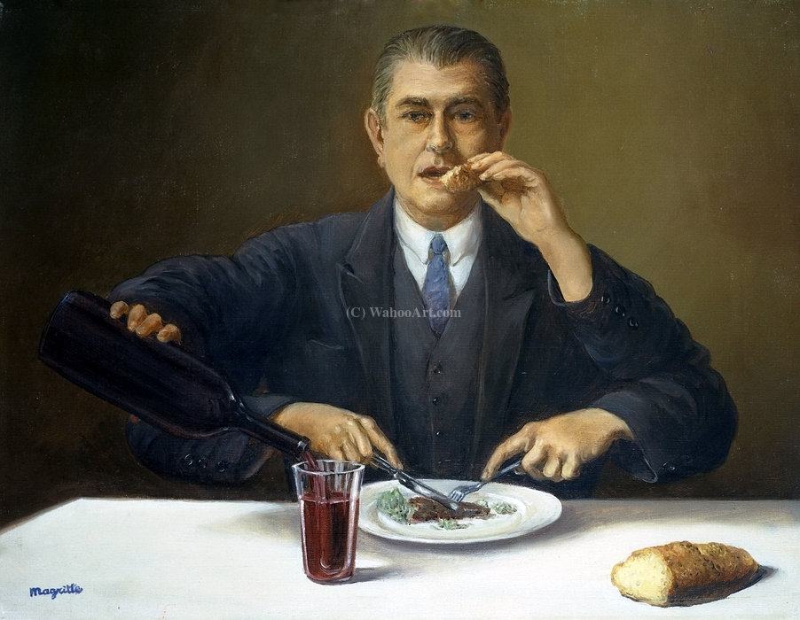 | il mago di Rene Magritte | Most-Famous-Paintings.com