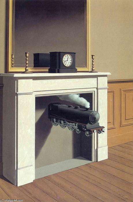 | Tempo trafitto di Rene Magritte | Most-Famous-Paintings.com