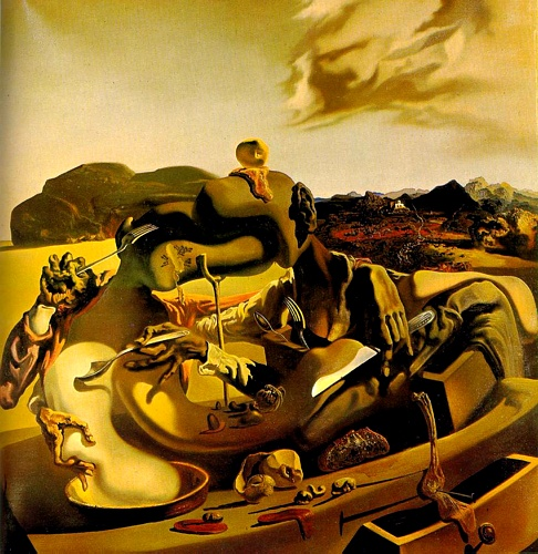 | cannibalismo autunnale di Salvador Dali | Most-Famous-Paintings.com