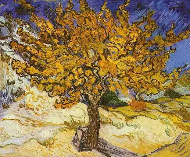 famous painting gelso , Il of Vincent Van Gogh