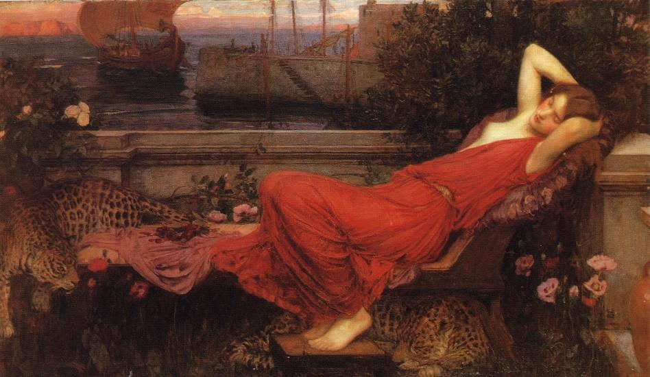 Ordinare Riproduzioni D'arte | Arianna di John William Waterhouse | Most-Famous-Paintings.com