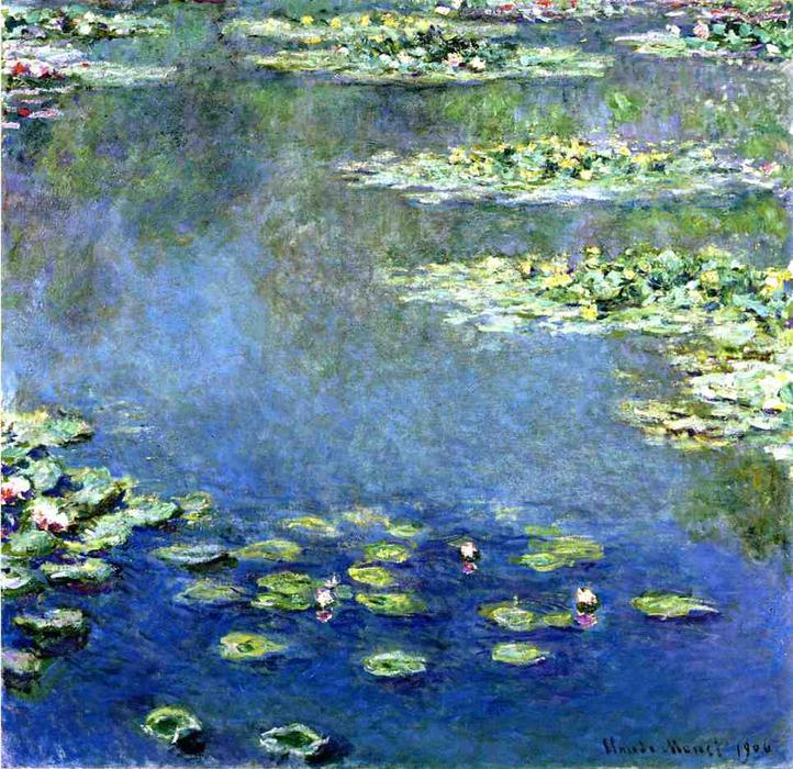 Ordinare Stampe Di Qualità Del Museo | gigli d'acqua di Claude Monet | Most-Famous-Paintings.com