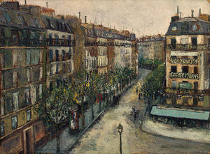 Maurice Utrillo - Custine Rue a Montmartre