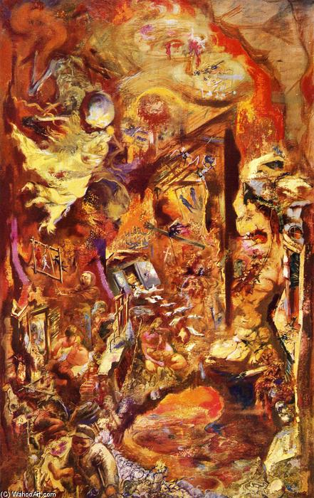 famous painting Fossa of George Grosz