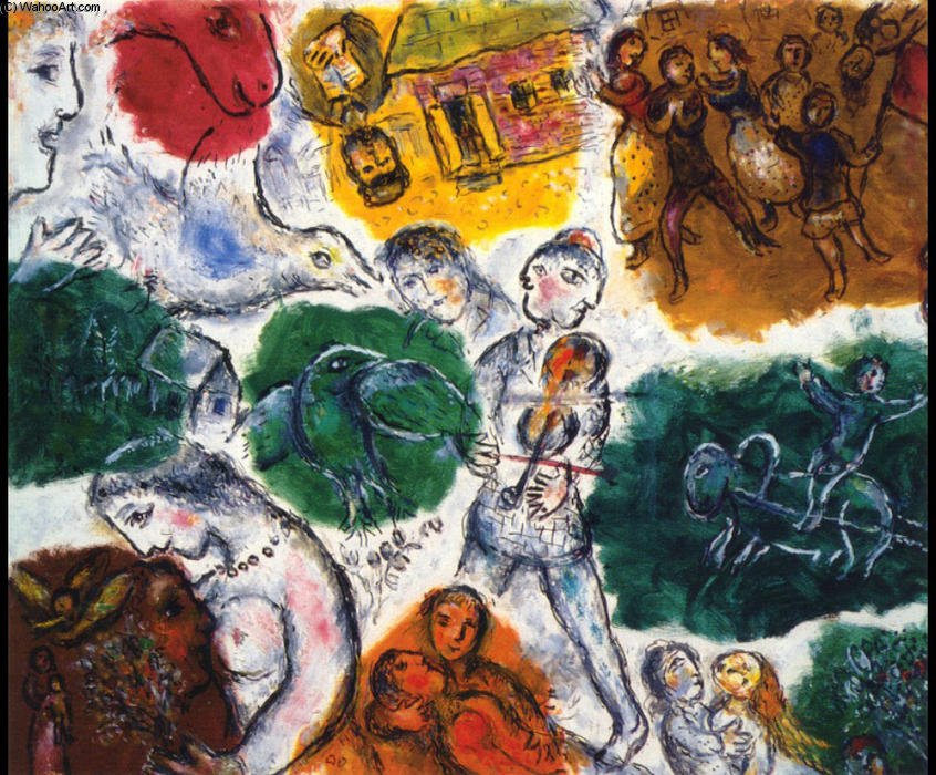 | Composizione di Marc Chagall | Most-Famous-Paintings.com