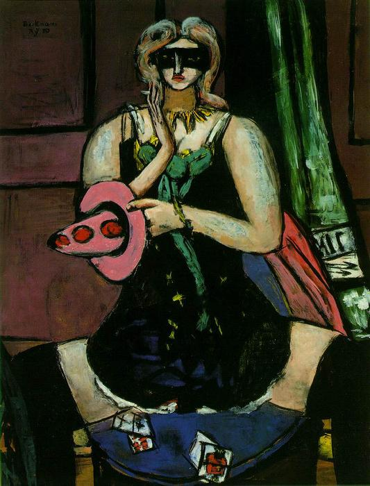 | Colombina di Max Beckmann | Most-Famous-Paintings.com