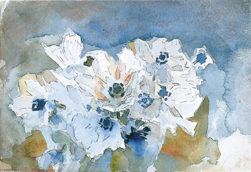famous painting Fiori of Mikhail Vrubel