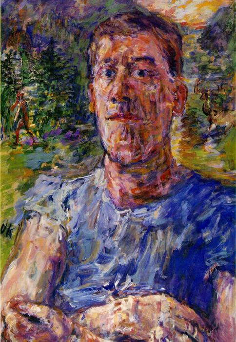 | Self-portrait di un 'Degenerate Artist' di Oskar Kokoschka | Most-Famous-Paintings.com