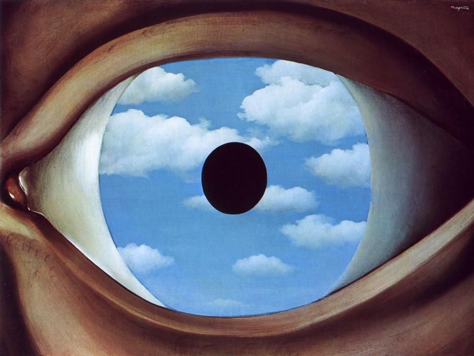 | Il falso specchio di Rene Magritte | Most-Famous-Paintings.com