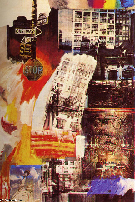 | fattoria di Robert Rauschenberg | Most-Famous-Paintings.com