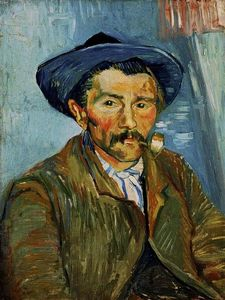 Vincent Van Gogh - The Smoker (Contadino)