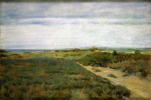 William Merritt Chase - Vicino al mare (aka Shinnecock)