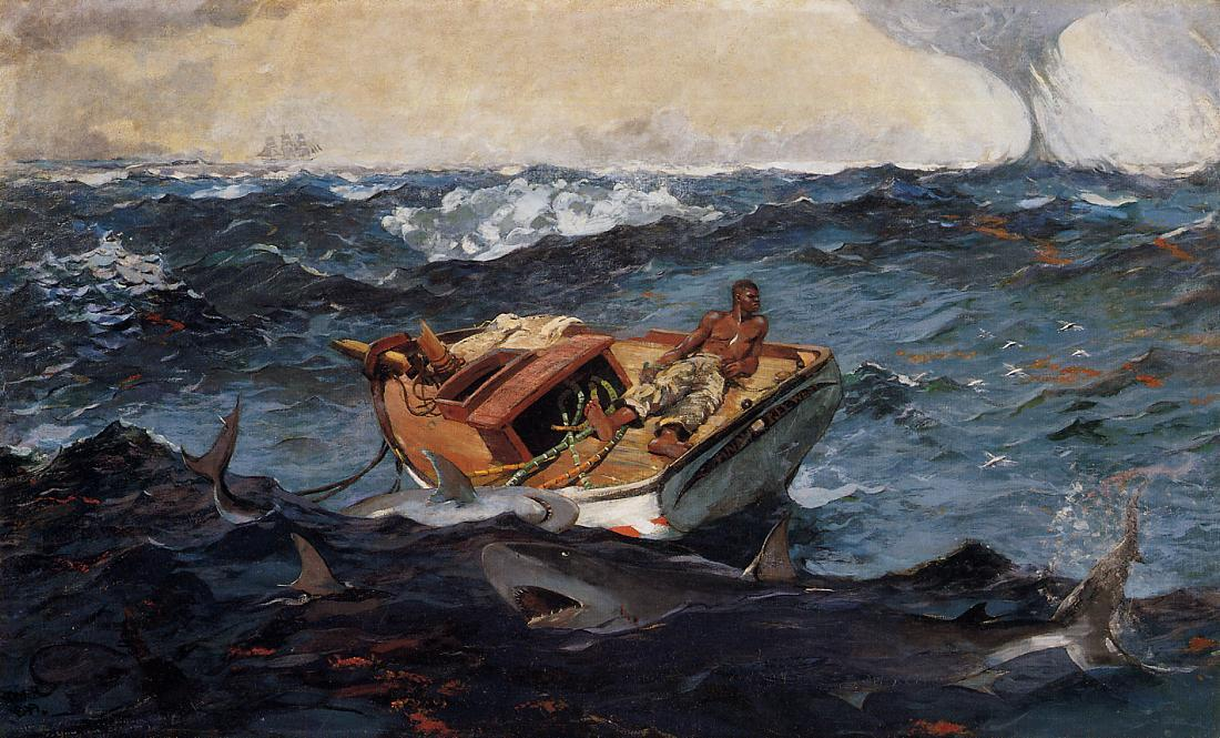 Ordinare Copia Pittura : La Corrente del Golfo di Winslow Homer | Most-Famous-Paintings.com