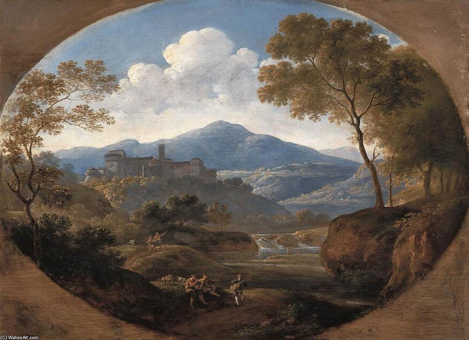 Ordinare Riproduzioni Di Belle Arti | Grottaferrata vicino a Roma di Johann Georg Von Dillis | Most-Famous-Paintings.com