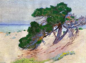 Arthur Wesley Dow - pacifico boschetto  in California