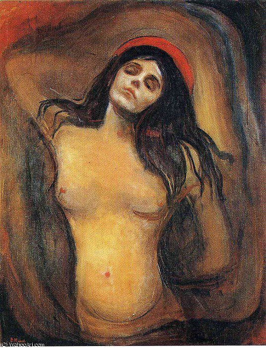 Compra Riproduzioni D'arte Del Museo | untitled (5816) di Edvard Munch | Most-Famous-Paintings.com