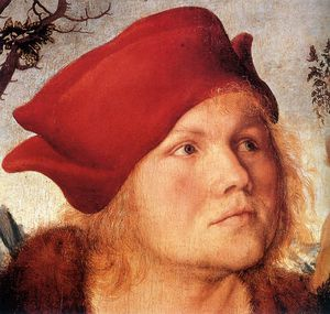 Lucas Cranach The Younger - Ritratto di Johannes Cuspinian d -