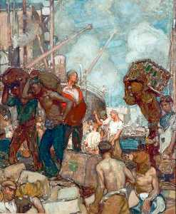 Frank William Brangwyn - commercio
