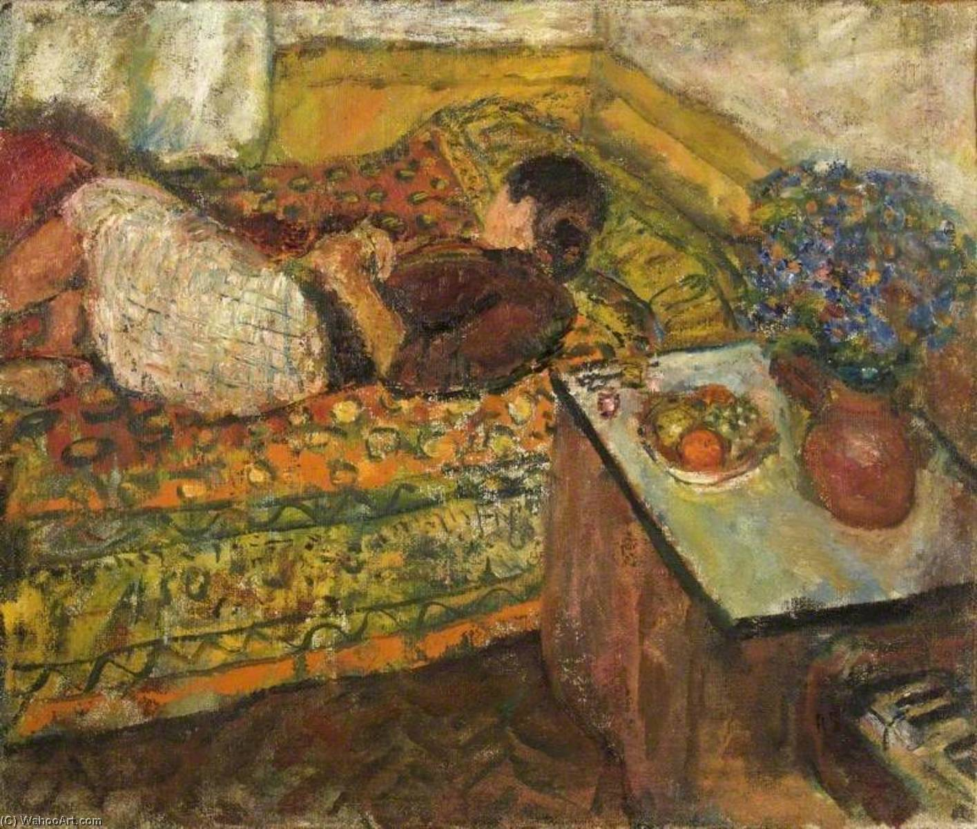 | Siesta di Ruskin Spear | Most-Famous-Paintings.com